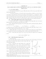 Chương 12: Mạch điện phi tuyến ở chế độ xác lập và các phương pháp phân tích pdf