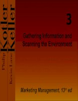 Gathering Information and Scanning the Environment pptx