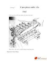 đồ án quy trình công nghệ sản xuất bia, chương 7 potx