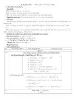 Giáo án toán 11 nâng cao doc