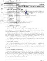 Bài giảng - Đồ họa máy tính pptx