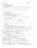 Phương pháp giải bài tập dao động pptx