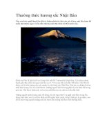 Thưởng thức hương sắc Nhật Bản pdf