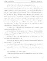 đề thi môn luật tố tụng dân sự (kèm lời giải) - đề 4