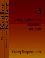 Creating Customer Value, Satisfaction, and Loyalty doc