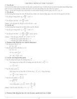 Tóm tắt lý thuyết vật lí lớp 12 docx