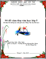 90 đề cảm thụ văn học lớp 5