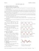 Lý thuyết và bài tập Sóng âm pdf