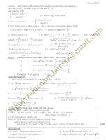 200 phương trình lượng giác THPT