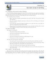 Chương 13: Vận hành và bảo trì hệ thống pot