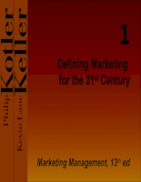 Defining Marketing for the 21st Century docx
