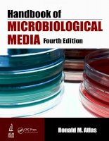 Handbook of Microbiological Media, Fourth Edition part 1 pptx