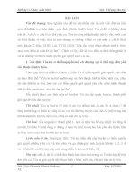 đề thi môn luật tố tụng dân sự (kèm lời giải) - đề 10