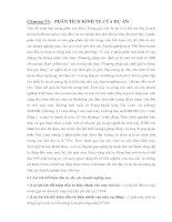 LUẬN VĂN CAO HỌC - NGHIÊN CỨU KHẢ THI DỰ ÁN THÀNH LẬP NHÀ MÁY ĐẠI TU VÀ NÂNG CẤP TỰ ĐỘNG HÓA MÁY MAY CÔNG NGHIỆP TẠI THÀNH PHỐ HCM - CHƯƠNG 6 docx