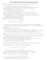 bài tập hình học tọa độ trong không gian 12