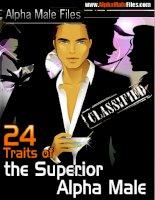 24 Traits of the Superior Alpha Male pdf