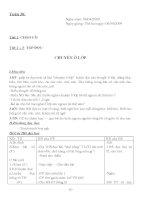 Giao an lop 1 ( Tuan 30 )