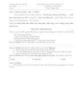 Đề thi cuối học kì 2 môn TV,toán lớp 3, 09-10