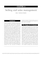 Selling and sales management docx
