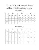 tính toán thiết kế bảo vệ rơ le cho trạm biến áp 110 KV Vân Đình, chương 8 pdf
