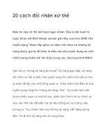 20 cách đối nhân xử thế pdf