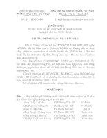 so 47/QÑ - PGDDT  NGAY 2/4/2010 v/V THANH LAP HOI DONG RA DE VA LAM DE KIEM TRA hkii NAM HOC 2009 - 2010