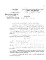 Nghị định 28/2010/NĐ-CP ngày 25/3/2010 của Chính phủ quy định mức lương tối thiểu chung