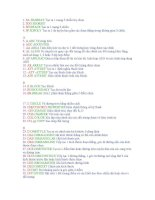 Các lệnh tắt trong AutoCAD pdf