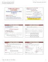 Bài giảng toán cao cấp c1 cao đẳng   đh công nghiệp TP HCM