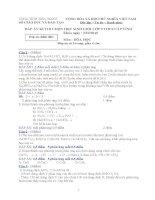 Đề và đáp án HSG Hóa 9 Tiền Giang 09-10