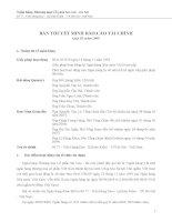 bản thuyết minh báo cáo tài chính quý iii năm 2009 ngân hàng thương mại cổ phần sài gòn hà nội