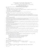 Giải bài tâp vô cơ 12-CB