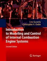 Introduction to Modeling and Control of Internal Combustion Engine Systems P1 potx