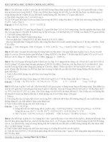 Bài tập hóa học 12 phần Crom, sắt, đồng pdf