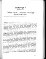 Secrets for profiting in bull and bear markets Chapter 7 potx