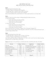 Bài tập môn Ngân hàng thương mại ppsx