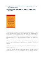 Noi dung tu tuong Ho CHi Minh ve xay dung dang trong sach vung manh