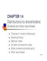 Slide Financial Management - Chapter 14 potx