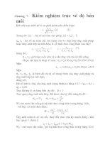 thiết kế chi tiết dạng trục của hộp giảm tốc, chương 7 pdf