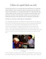 Chăm sóc người bệnh cao tuổi docx
