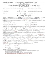 Bài tập dao động cơ - Con lắc lò xo pps
