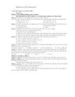 Kiểm tra một tiết Chương IV-Hóa 9