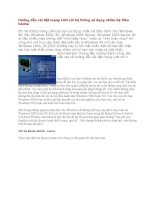 tài liệu hướng dẫn cài đặt mạng lan với hệ thống sử dụng nhiều hệ điều hành