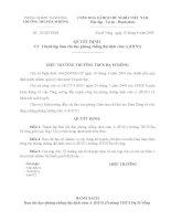 Quyet dinh lanh lap Ban chi dao phong chong cum A(H1N1)