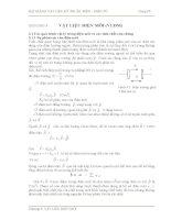 Chương 3: Vật liệu điện môi pdf