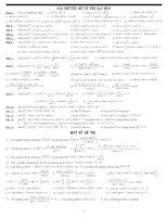 Bài tập giải phương trình pps