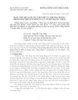 Bài thu hoạch học tập và làm theo TT HCM năm 2010