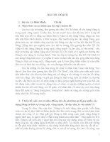 Bài thu hoạch Tư tưởng Hồ Chí Minh năm 2010