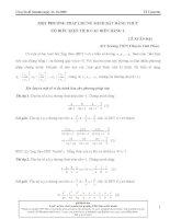 Một phương pháp chứng minh bất đẳng thức có điều kiện tích các biến bằng 1. pot