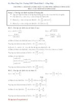 Hàm số lượng giác và phương trình lượng giác pptx